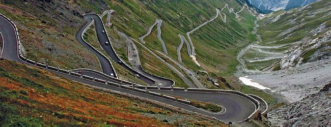 Bormio – Nauders (Passo Stelvio +Passo Resia)