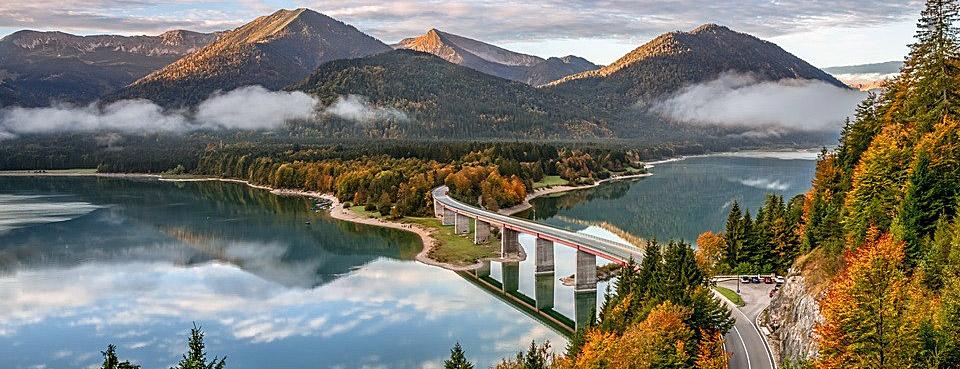 Sylvensteinsee – Rottach Egern